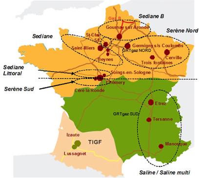 TIGF sells its gas transportation grid