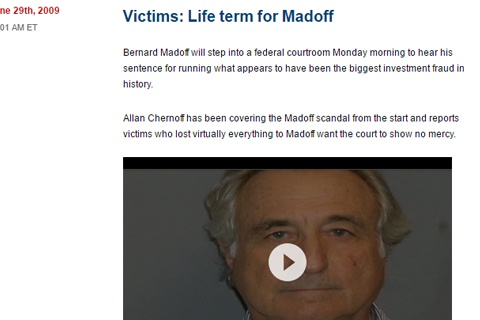 Madoff: the lessons for the energy market